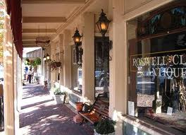 Shopping on Roswell Canton Street