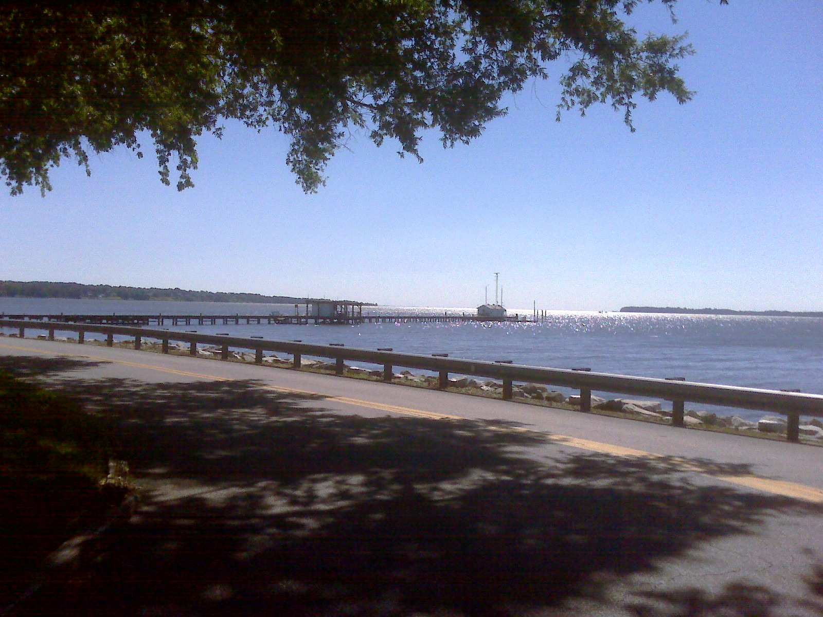 Solomons view to Chesapeake Bay